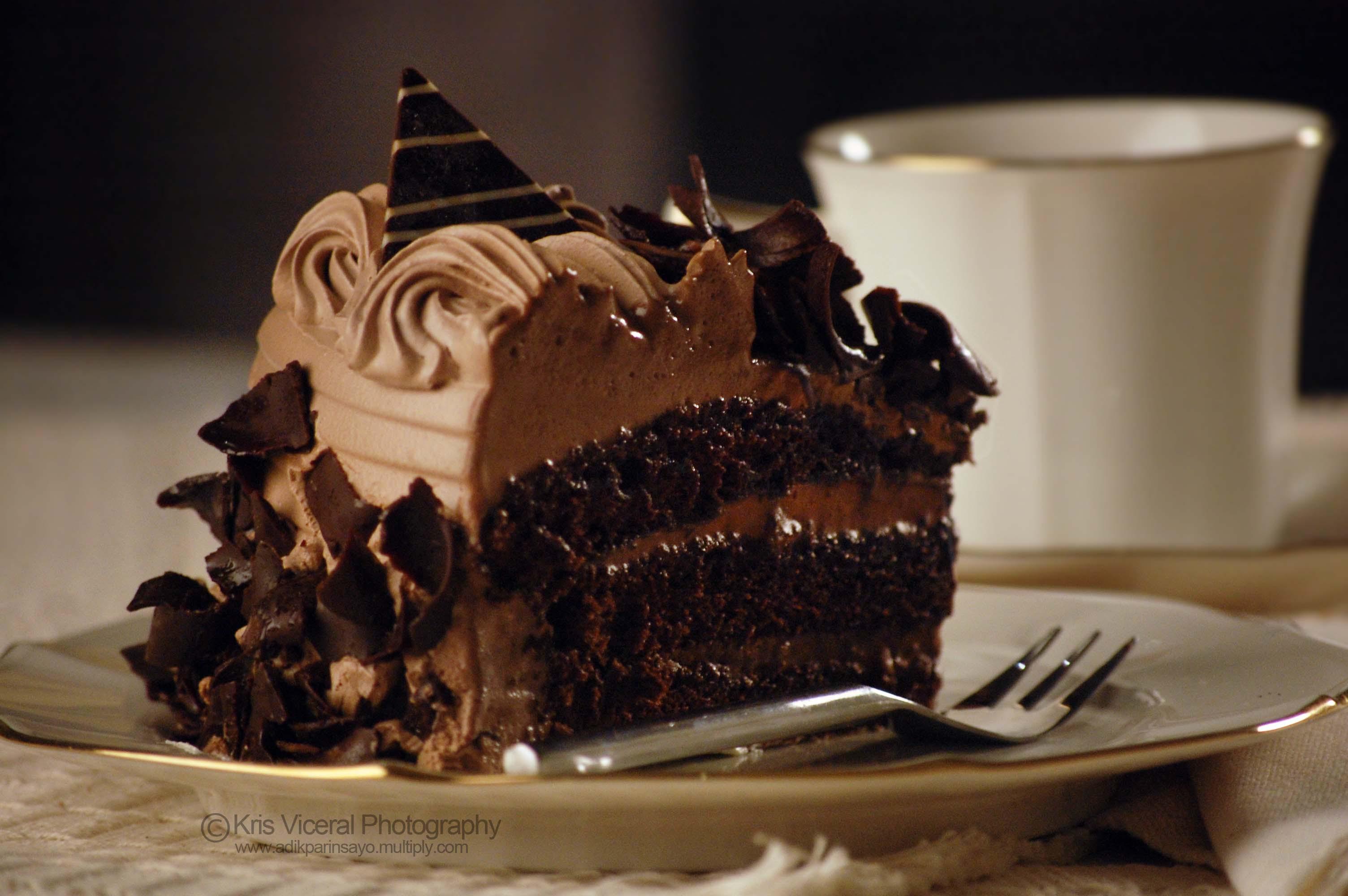 Preparation Of Delicious Chocolate Cake