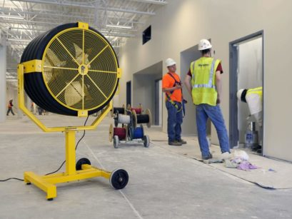 Why You Need Large Industrial Fans In Your Company