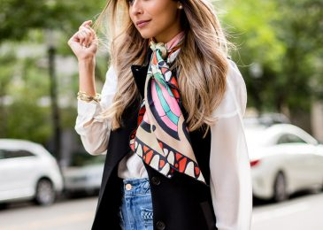 Sleek And Chic Ways To Wear Your Scarf